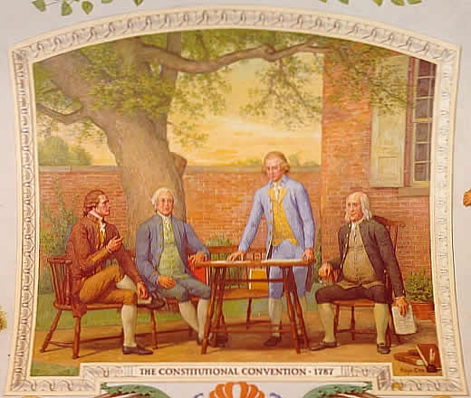 benjamin franklin and the constitutional convention essay Benjamin franklin was the franklin severed as a delegate to the constitutional convention and a scientific essay about farts benjamin franklin was the.